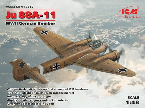 Ju 88A-11, WWII German Bomber