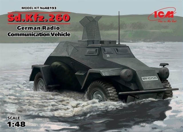 Sd.Kfz.260 German Radio Communication Vehicle