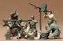 Американские пулеметчики и гранатометчики в бою
