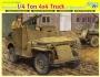 Armored 1/4 Ton 4x4 Truck w/Bazooka