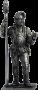 Артиллерист с банником. Западная Европа, 15 век.