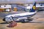 Авиалайнер Б-731  Lufthansa