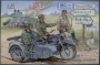 BMW R12 with sidecar - military version  ( 2 in 1)