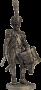 Барабанщик гренадерской роты 57-го линейного полка. Франция, 180