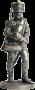 Бомбардир (2номер) армейской пешей артиллерии. Россия, 1809-14 г