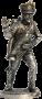Бомбардир (4номер) армейской пешей артиллерии, Россия, 1809-14 г