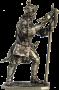 Бомбардир артиллерийского полка, 1708-23