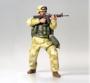 Фигура современного американского солдата в пустынной форме