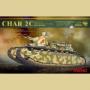 French Super Heavy Tank Char 2C kit.