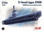 Германская подводная лодка тип ХХІІІ WWII