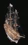 HMS BOUNTY(Mamoli) масштаб 1:100