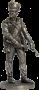 Канонир (3номер) армейской пешей артиллерии. Россия, 1809-14 гг.
