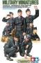 Набор немецие танкисты (8 фигур)