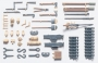 Навесное оборудование и инструменты (всего 31шт) для Pz.Kpwf.IV