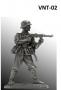 Немецкий пехотинец с MP-40, 1944-45