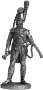 Офицер Конной Лейб-гвардии. Швеция, 1807 г.