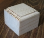 Подставка квадратная 5*5 см (сосна, толщина 4,5 см)