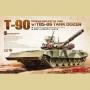 Russian Main Battle Tank T-90 w/TBS-86 Tank Dozer