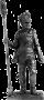 Русский бомбардир артиллерийского полка, 1812-15 гг.