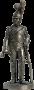 Ряд. 1-й роты (Милан) Почетной королевской гвардии. Италия, 1811