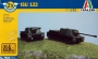 САУ  ISU-122 (2 FAST ASSEMBLY MODELS) (1:72)