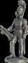 Штаб-трубач Московского драгунского полка Россия 1803-06г
