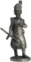 Сапер 2-го пехотного полка. Берг, 1807-12 гг.