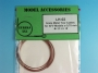 Scale metal tow cables for AFV Models