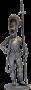Унтер-офицер Лейб-гвардии Преображенского полка. Россия, 1802-06