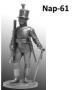 Унтер-офицер Лейб-гвардии Егерского батальона. Россия, 1802-04 г