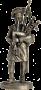 Волынщик 92-го (Гордона) шотландского полка. Великобритания, 181