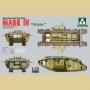 WWI Heavy Battle Tank Mark IV Male