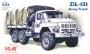 Зил-131, армейский грузовой автомобиль