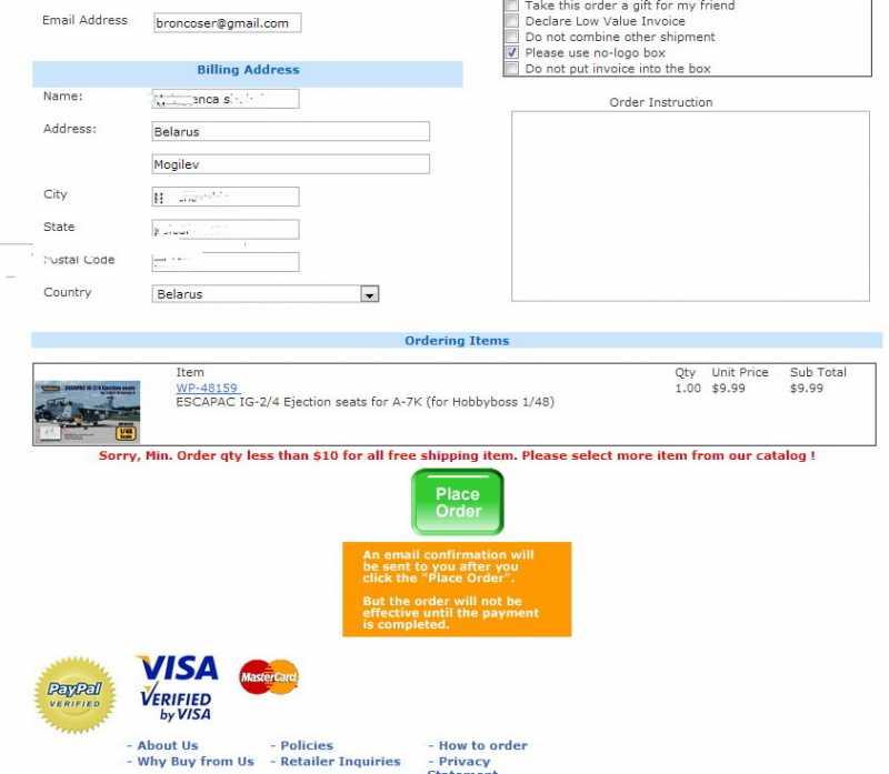 Scotiabank visa billing address labels