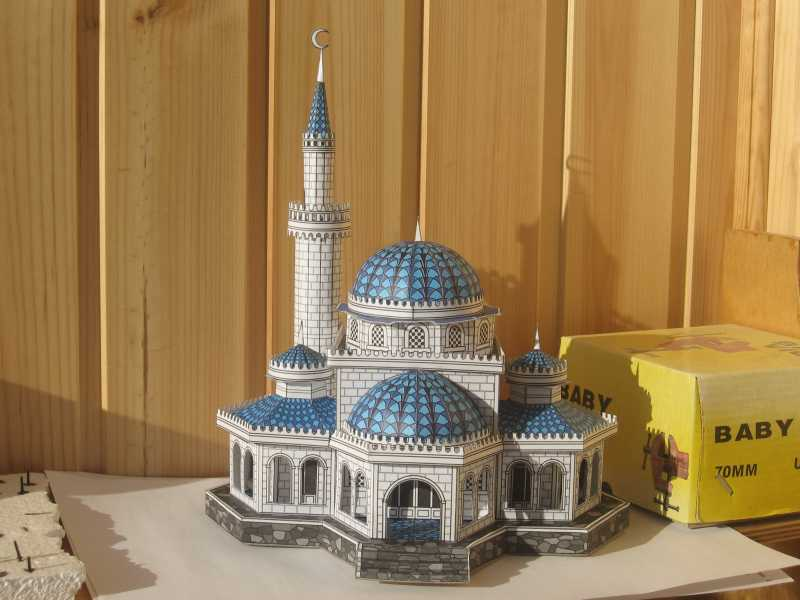 Как сделать макет мечети из бумаги своими руками 81